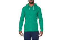 141092-5007 Джемпер мужской Asics Graphic Fz Hoody (зеленый)