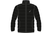 142889-0904 Куртка мужская Asics Winter Long Padded Jkt (черный)